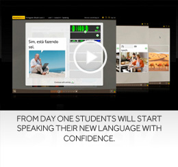 From day one students will start speaking their new language with confidence.