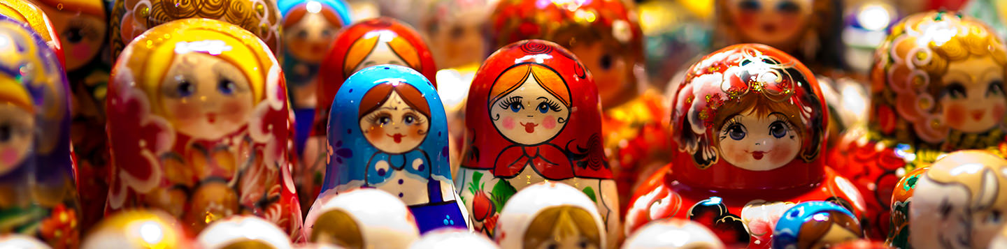 Learn Russian with Rosetta Stone. Russian nesting dolls.