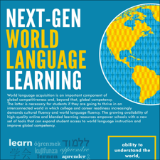 K Infographics - World of languages infographic
