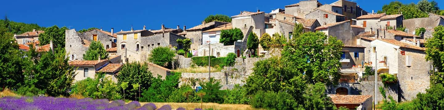 Provence in France header of Rosetta Stone How To Say 10 In French page