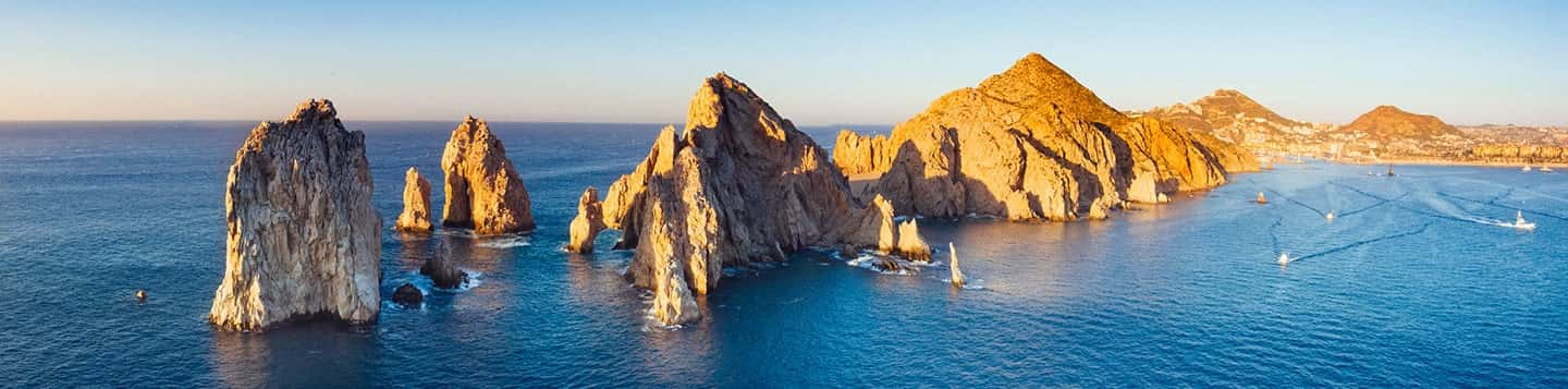 Cabo San Lucas in Mexico header of Rosetta Stone How to Become Fluent in Spanish page