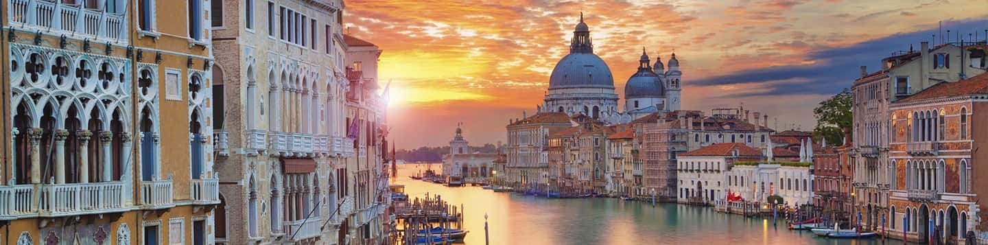 sunset in Venice header of Rosetta Stone Best Language Learning App page