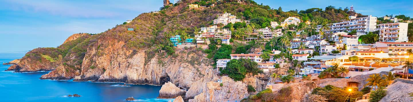 view of Spanish villa house header of How to Say to Course in Spanish page