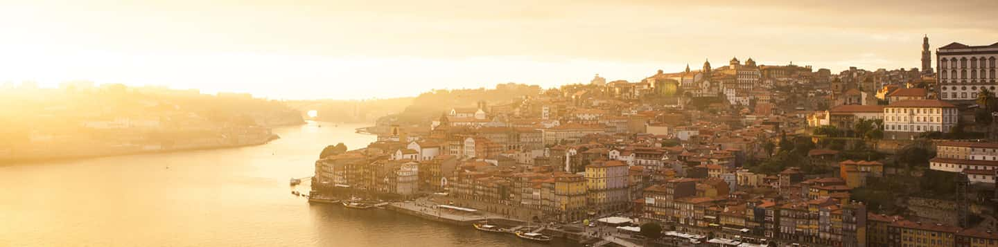 Portuguese Cityscape as header of How Are You In Portuguese page