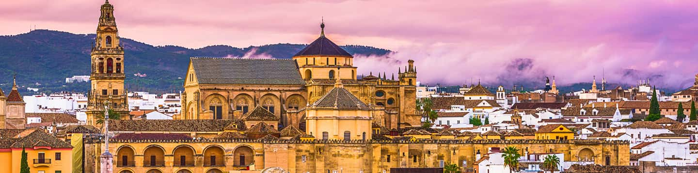 Córdoba City in Spain header of Rosetta Stone How to Say Language In Spanish page