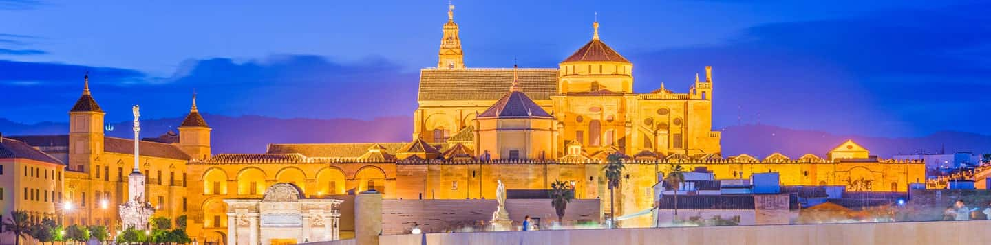 Castles in Spain header of Rosetta Stone Spanish for Beginners page