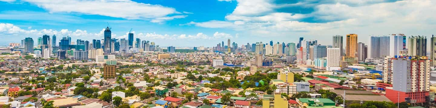 Cityscape view header of Rosetta Stone Basic Tagalog Words page