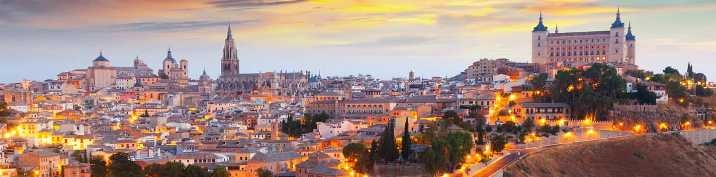 view of Alcázar de Toledo in Spain as header of Usted In Spanish page