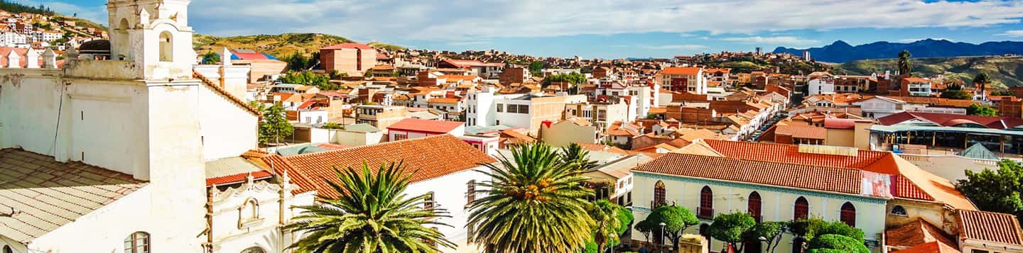 Sucre Capital of Bolivia header of Rosetta Stone Basic Spanish Words page