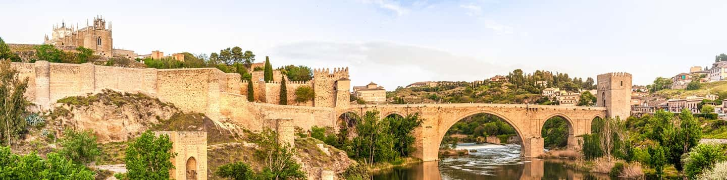 View of Medieval city in Toledo in Spain header of Rosetta Stone Best App to Learn Mandarin Chinese page