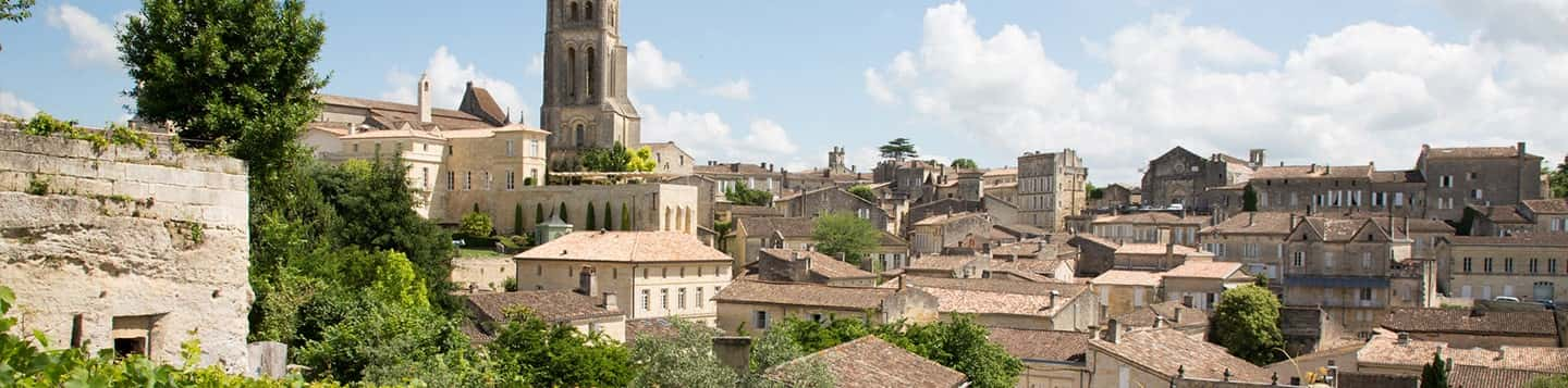 Paysage region de bordeaux in France header of Rosetta Stone Tips for Learning French page